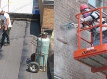 Surveillance des travaux de l'enveloppe du bâtiment (murs et toitures)