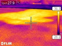 Expertise par thermographie et contrôle des matériaux