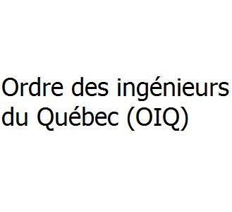Ordre des ingénieurs du Québec (OIQ)